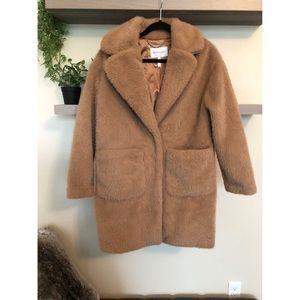 BCBGENERATION teddy bear jacket